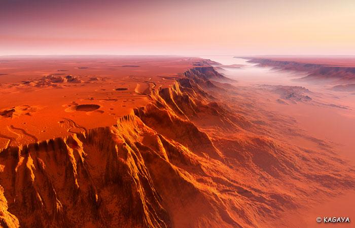Каньон на Марсе